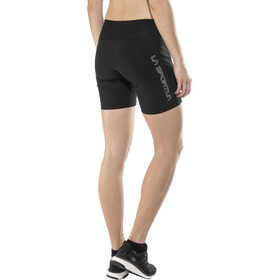 La Sportiva Waft Tight Shorts Women Black/Grey